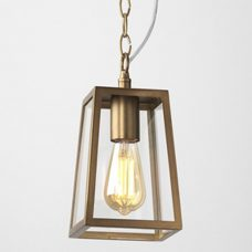 Astro Calvi 215 Pendant Light Antique Brass