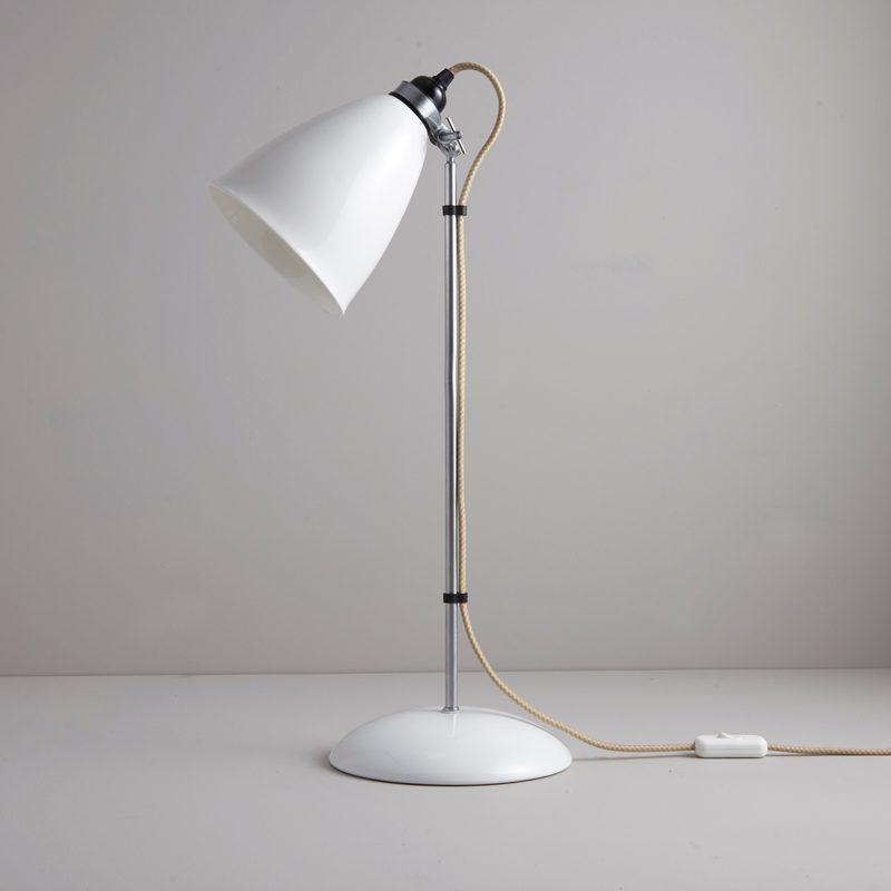 Original Btc Hector Large Dome Table Lamp Natrual White B