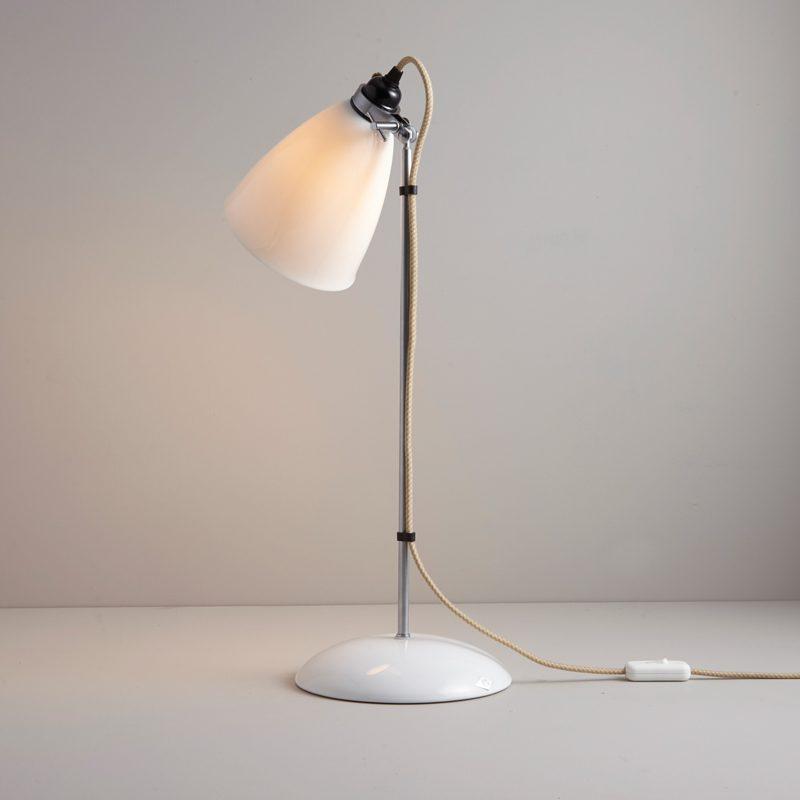 Original Btc Hector Large Dome Table Lamp Natrual White C