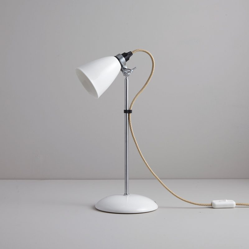 Original Btc Hector Small Dome Table Lamp Natural White B