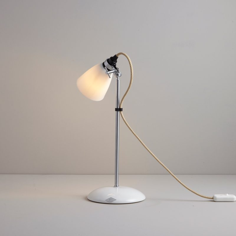 Original Btc Hector Small Dome Table Lamp Natural White C