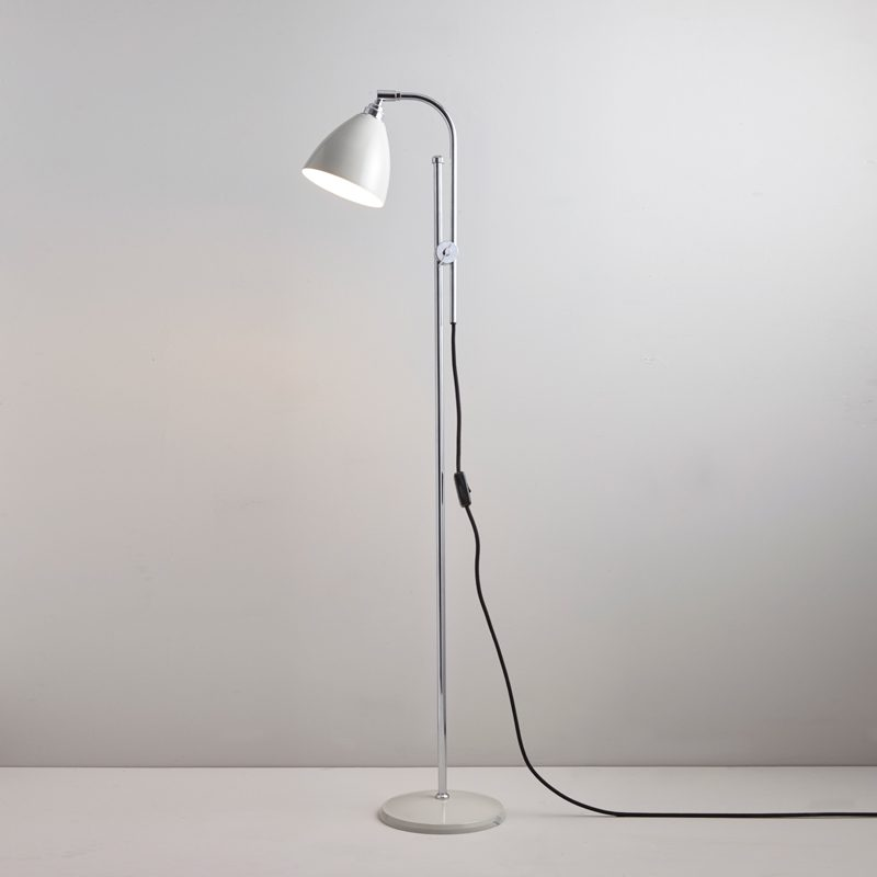 Original Btc Task Floor Lamp Putty Grey