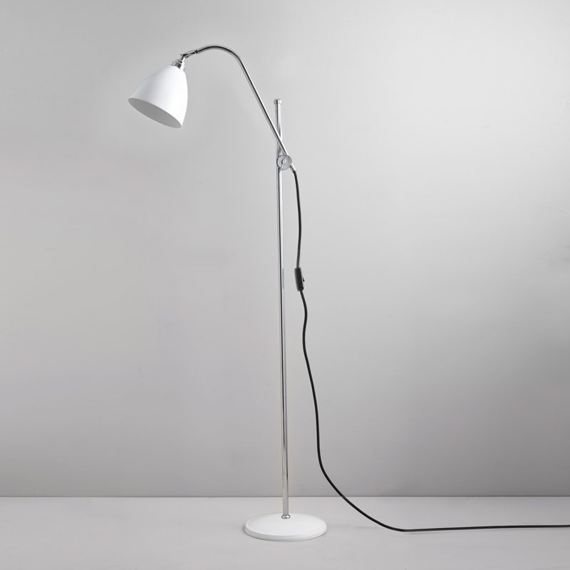 Original Btc Task Floor Lamp White D