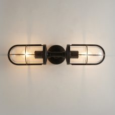 Original Btc Weatherproof Ship's Double Wall Light Bronze Clear