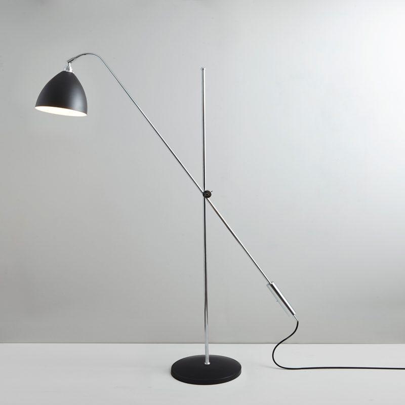 Original Btc Task Overreach Floor Lamp Black C