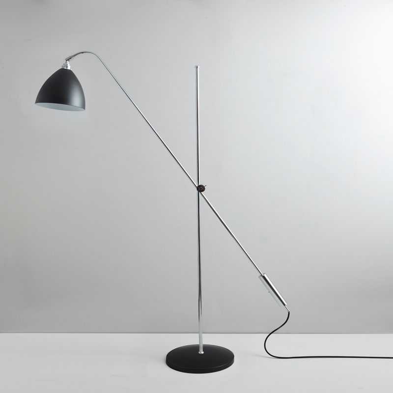 Original Btc Task Overreach Floor Lamp Black D