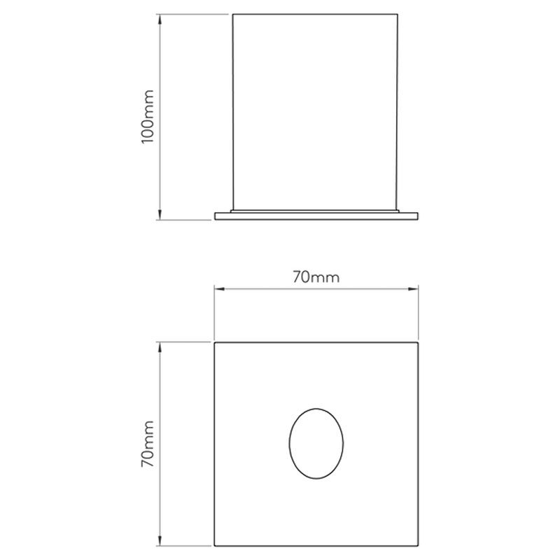 Astro Tango Led Wall Light Line Drawing