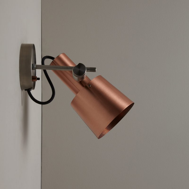 Original Btc Chester Wall Light Copper B Off