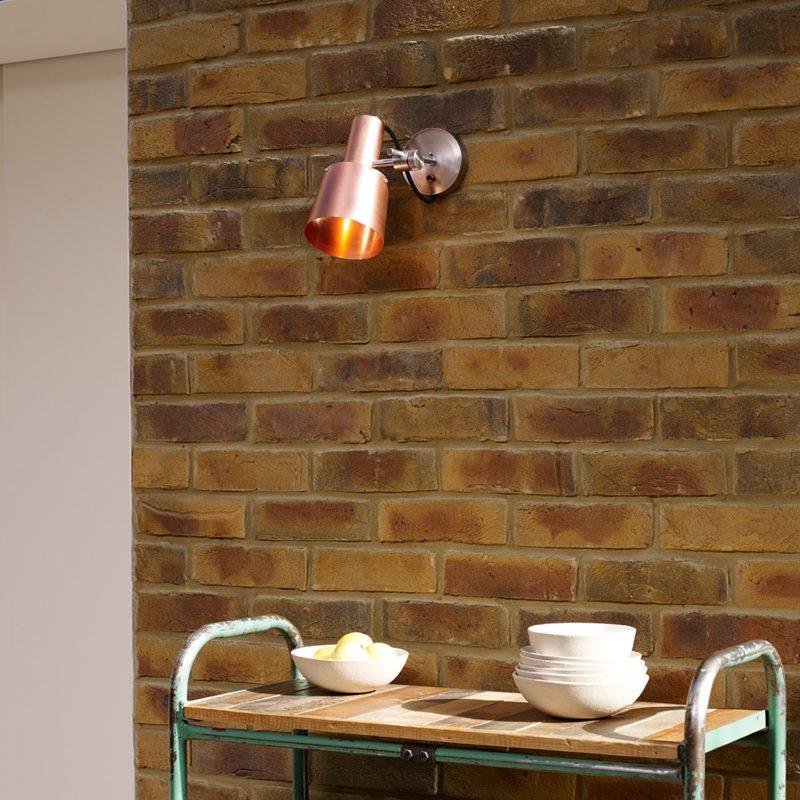 Original Btc Chester Wall Light Copper B