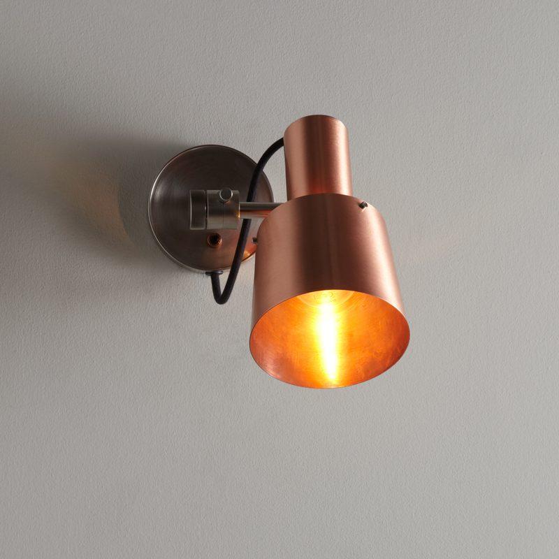 Original Btc Chester Wall Light Copper On