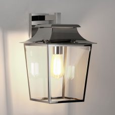 Astro Richmond Lantern 254 Wall Light Polished Nickel