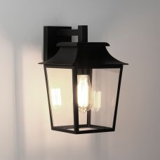 Astro Richmond Lantern 200 Wall Light Black