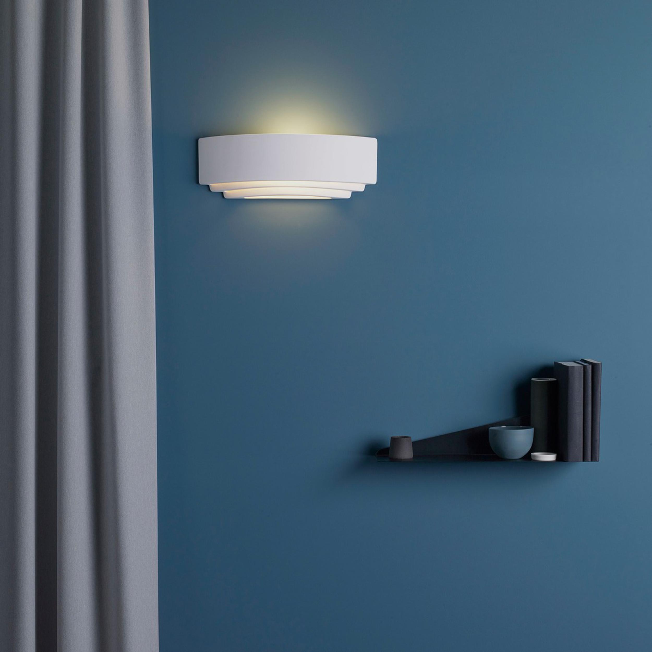 Astro Amalfi 380 Wall Light White C