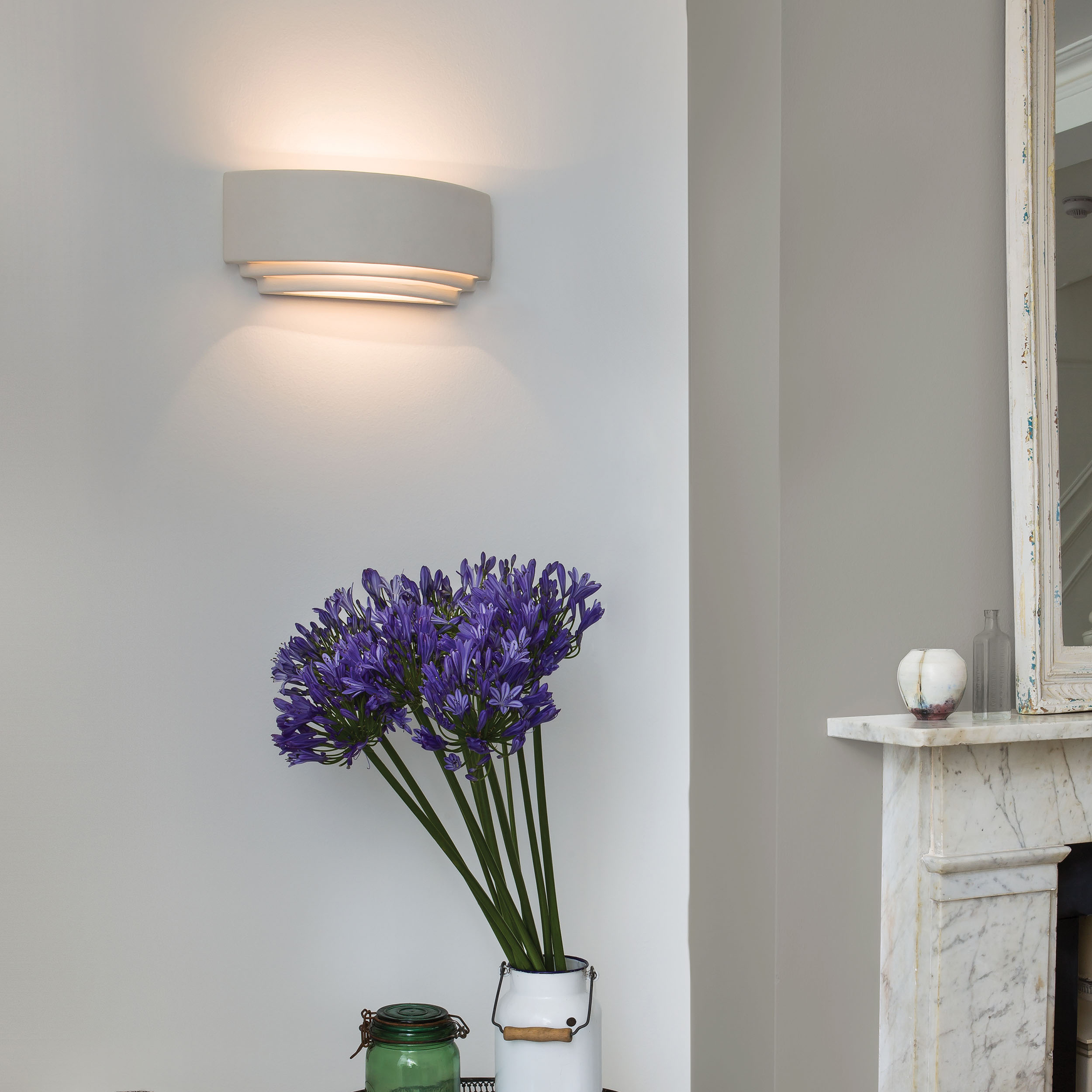 Astro Amalfi 315 Wall Light White C