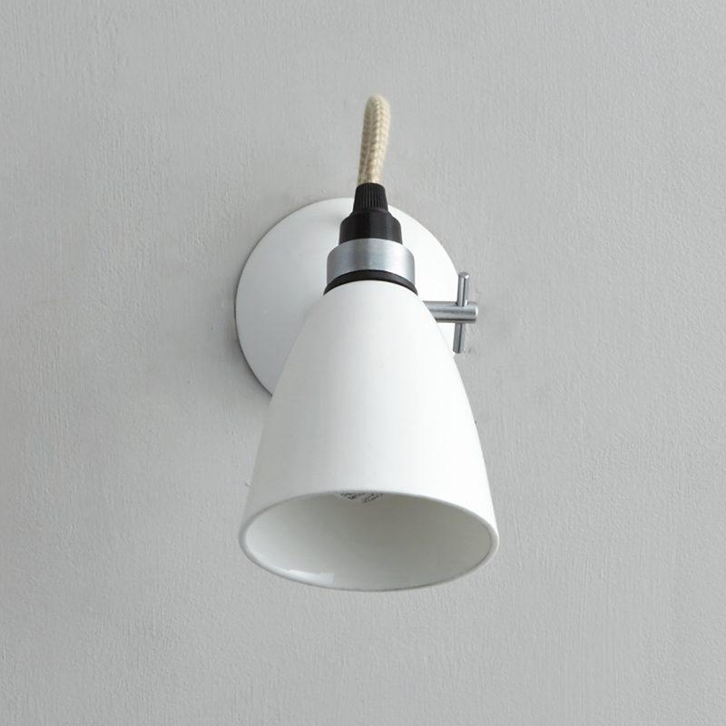 Original Btc Hector Small Dome Wall Light White C Off