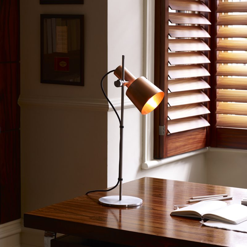 Original Btc Chester Table Lamp Satin Copper B