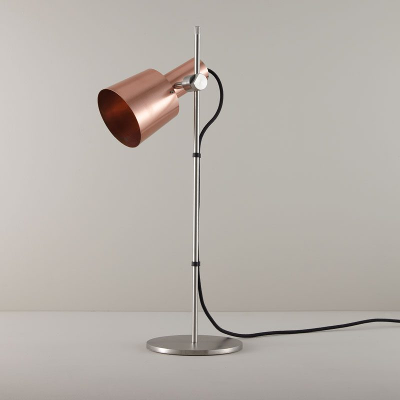 Original Btc Chester Table Lamp Satin Copper Off