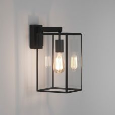 Astro Box Lantern 350 Wall Light Black.jpg