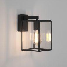Astro Box Lantern 270 Wall Light Black