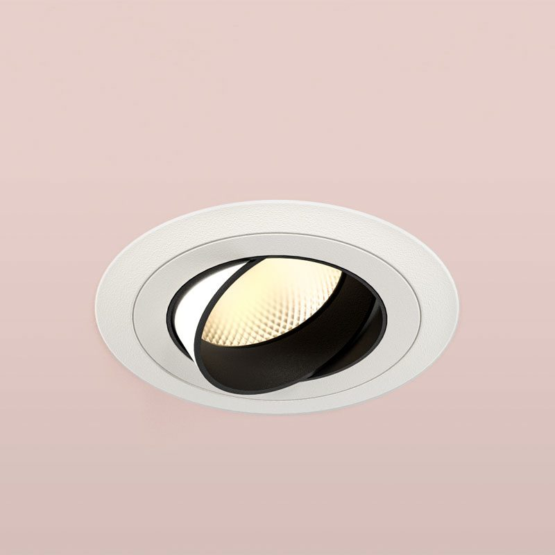 Orluna Detail Adjustable Downlight White B