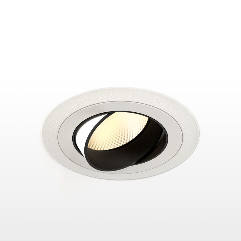 Orluna Detail Adjustable Downlight White C