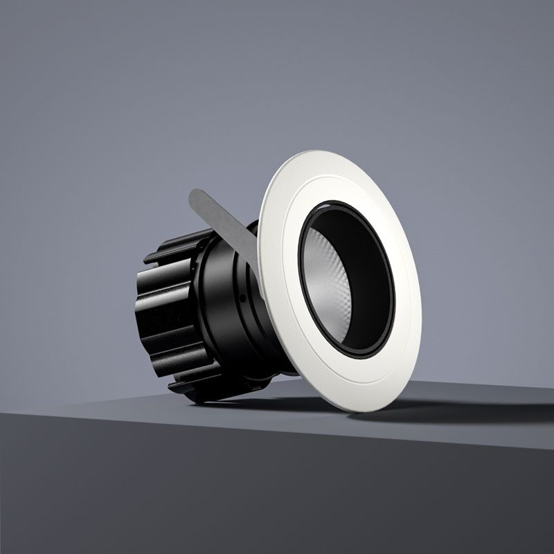 Orluna Detail Adjustable Downlight White D
