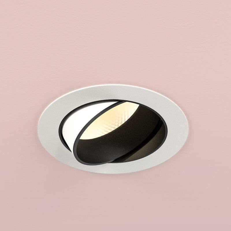 Orluna Dino Adjustable Downlight White B