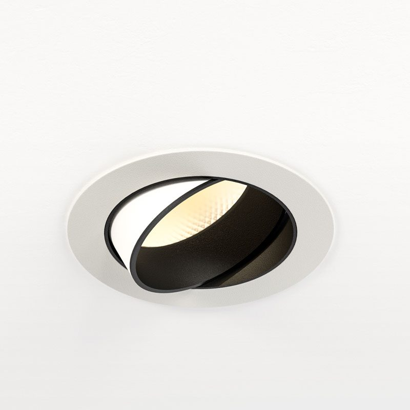 Orluna Dino Adjustable Downlight White