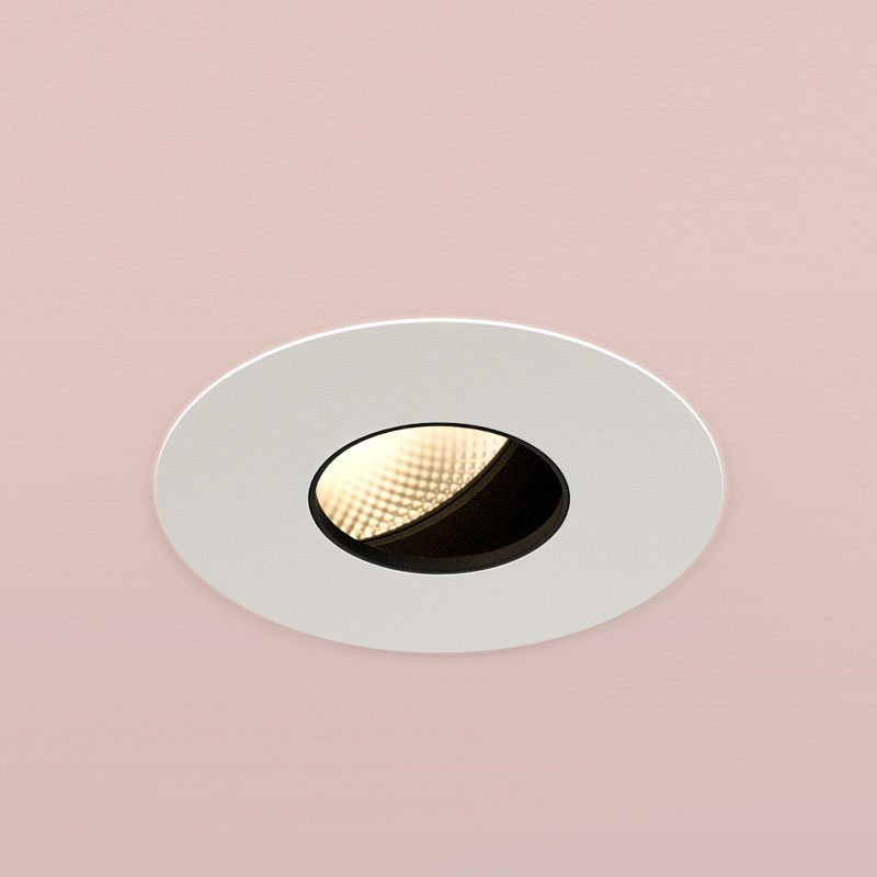 Orluna Timo Adjustable Downlight White D
