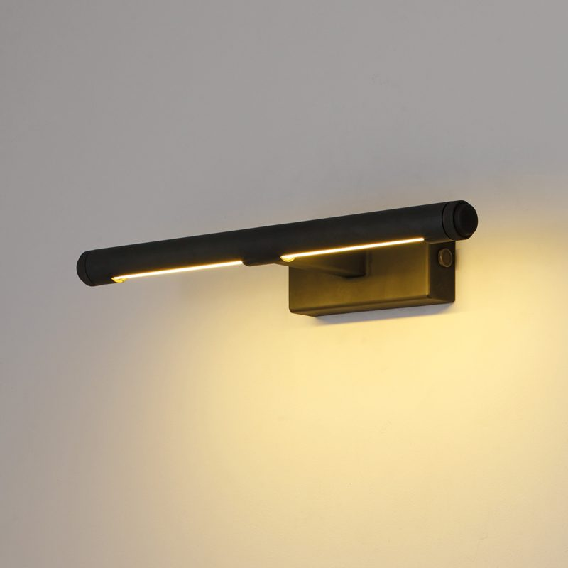 Davey Lighting Cooper Small Picture Light Weathered Brass On