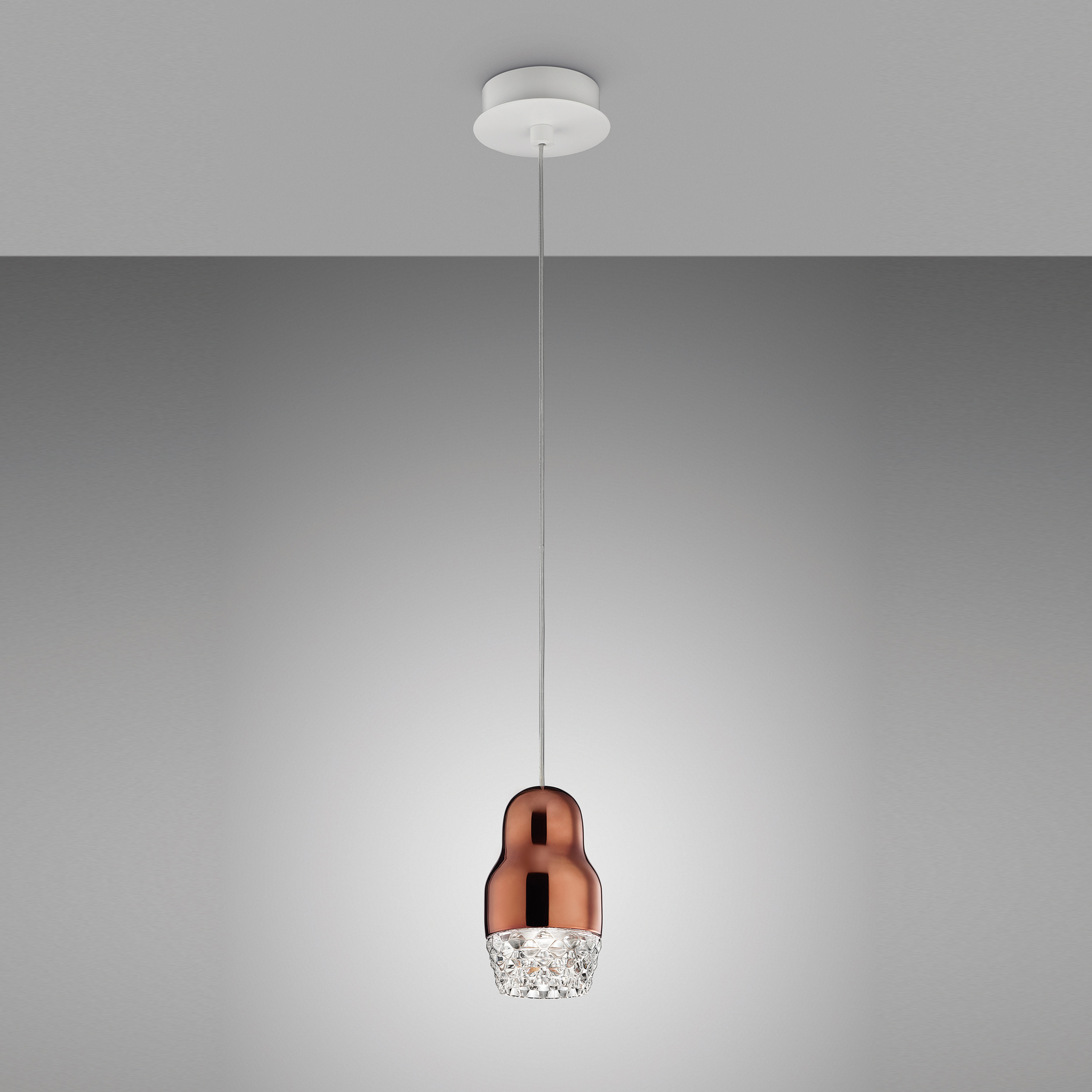 Axolight Fedora 1 Pendant Light Bronze