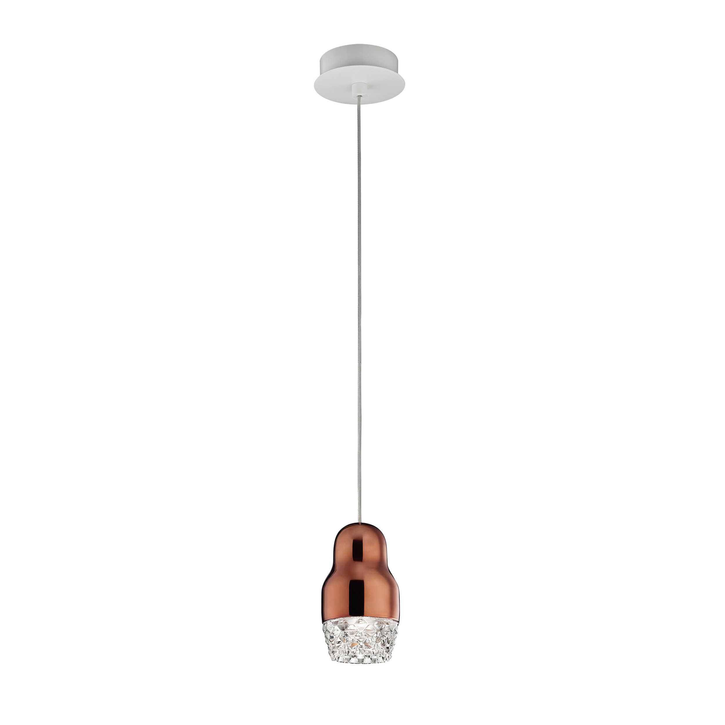 Axolight Fedora 1 Pendant Light Bronze B