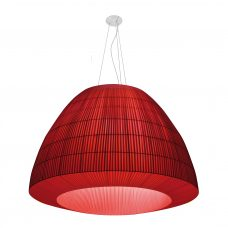 Axolight Bell 180 Pendant Light Red