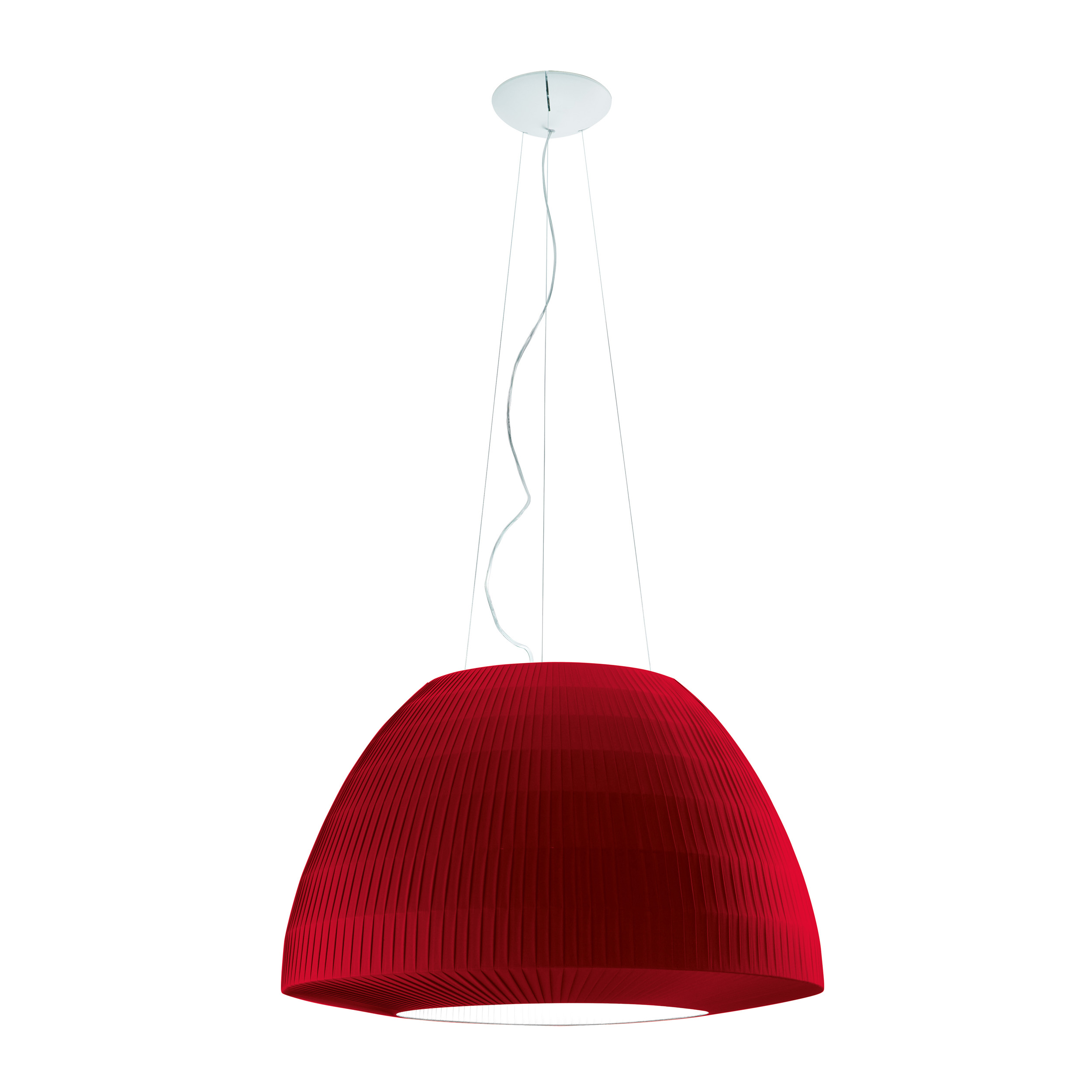Axolight Bell 90 Pendant Light Red