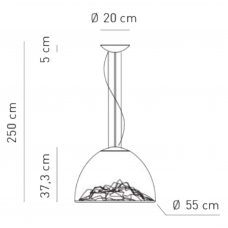 Axolight-Mountain-View-Pendant-Light-Line-Drawing
