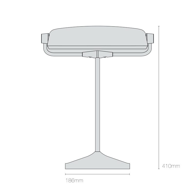 Original Btc Bankers Table Lamp Line Drawing