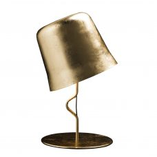 Contardi Agata Ap Wall Light Gold Leaf E