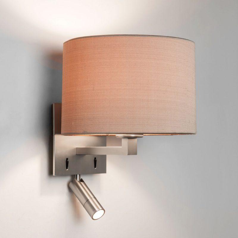 Astro Azumi Reader Led Wall Light Matt Nickel B
