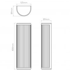 Astro Versailles 400 Led Wall Light Line Drawing