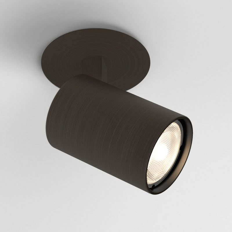 Astro Ascoli Recessed Spotlight Bronze