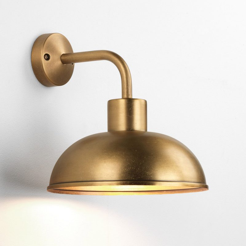 Astro Stornoway Wall Light Antique Brass