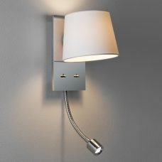 Astro Sala Reader Wall Light Polished Chrome