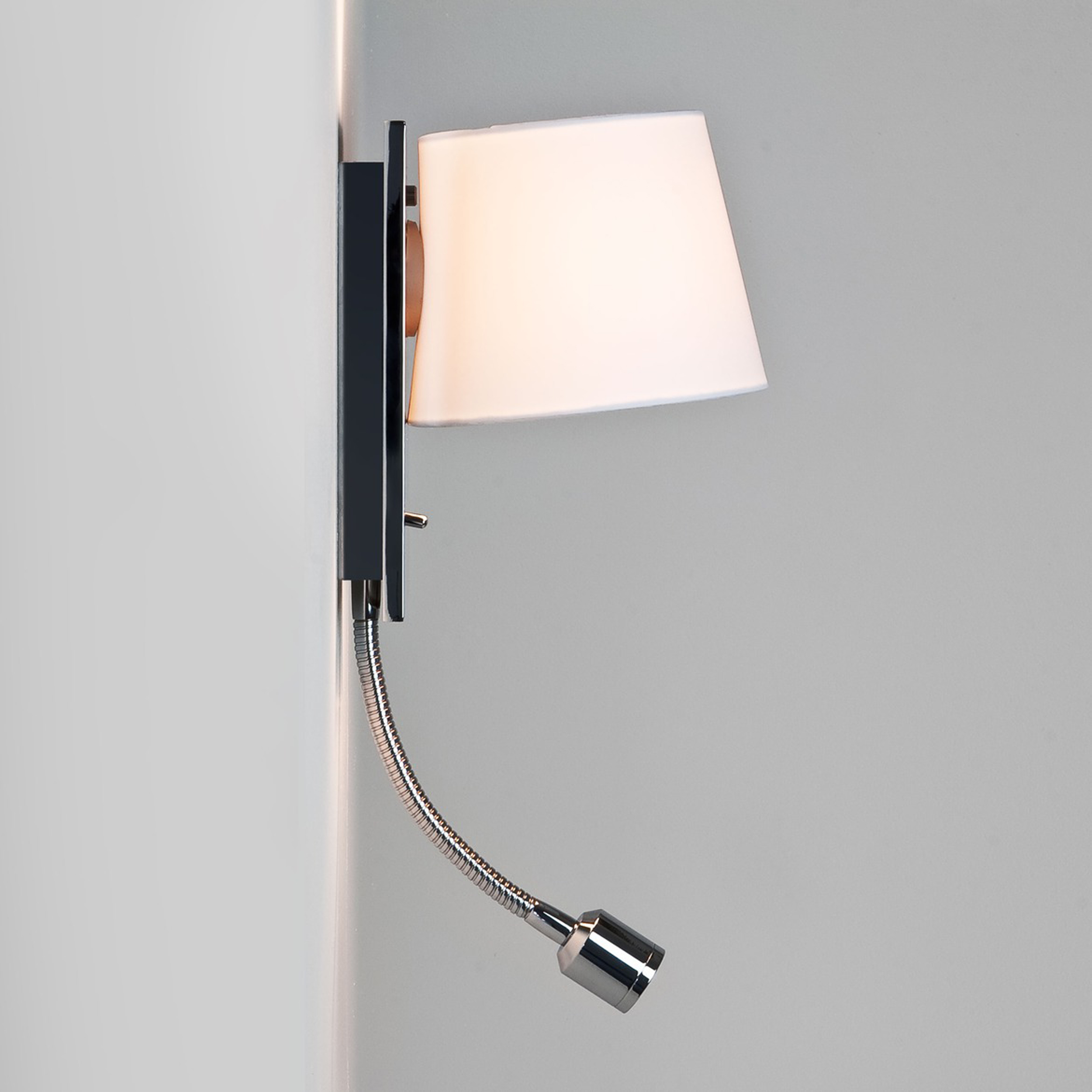 Astro Sala Reader Wall Light Polished Chrome B