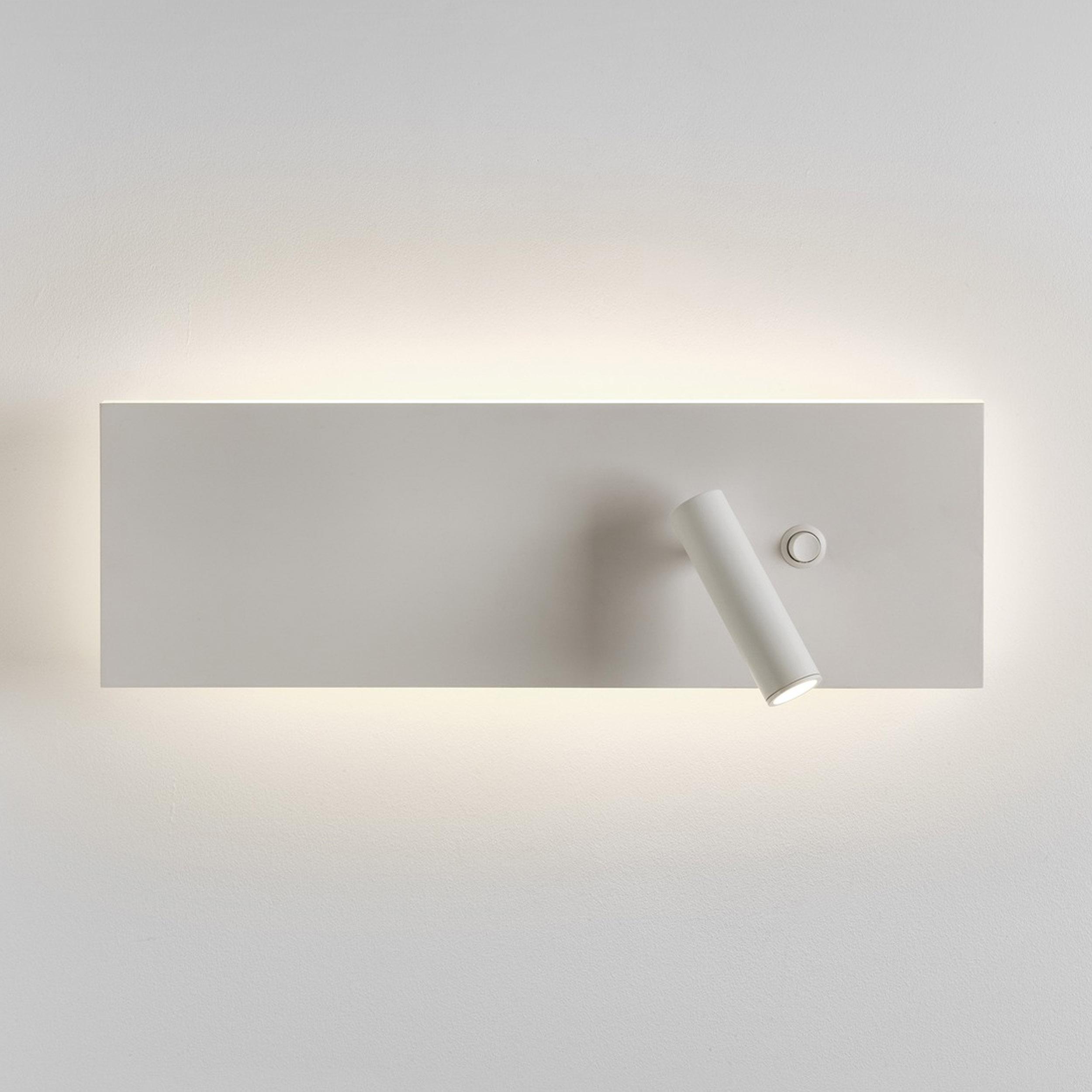 Astro Edge Reader Single Led Wall Light White