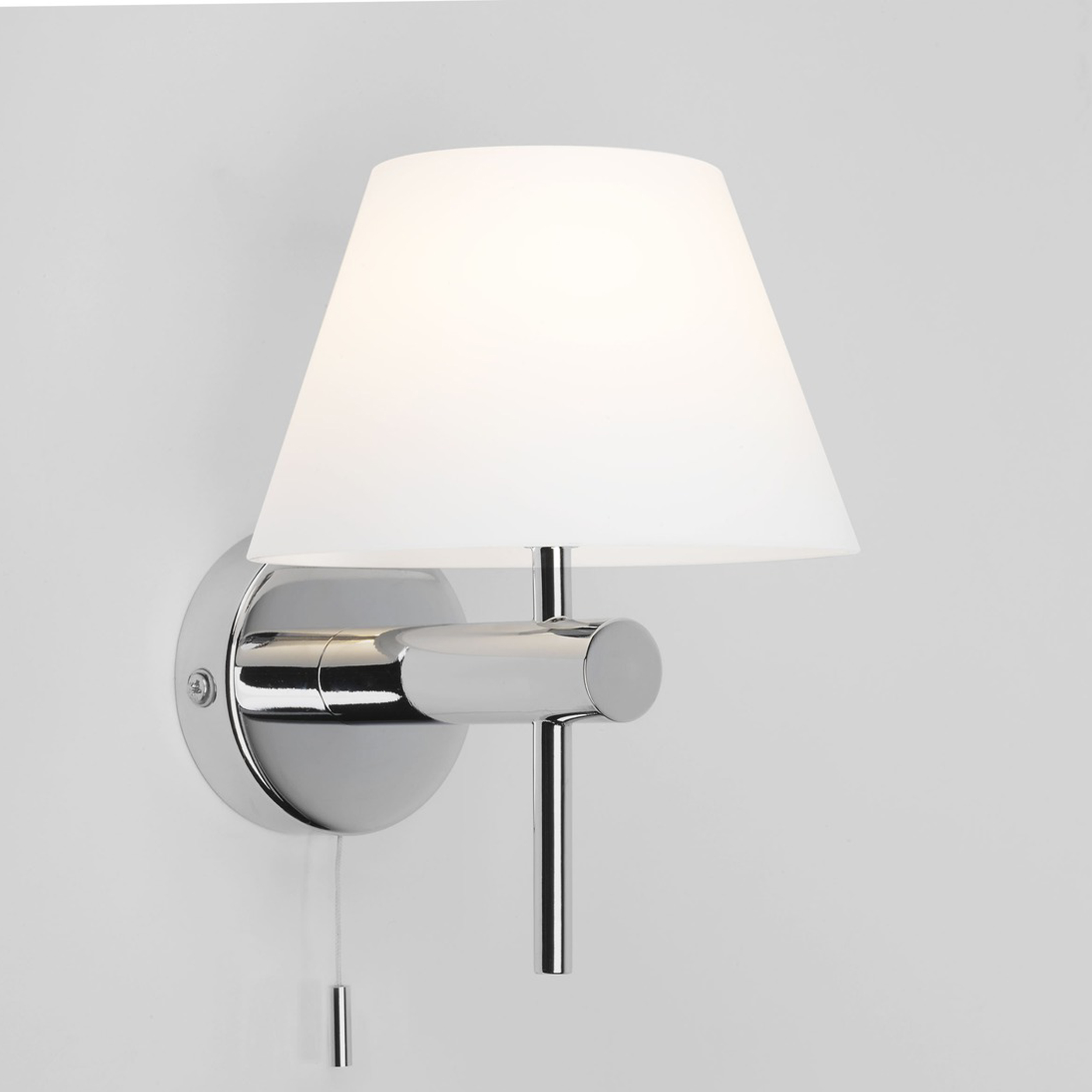Astro Roma Switched Wall Light Polished Chrome