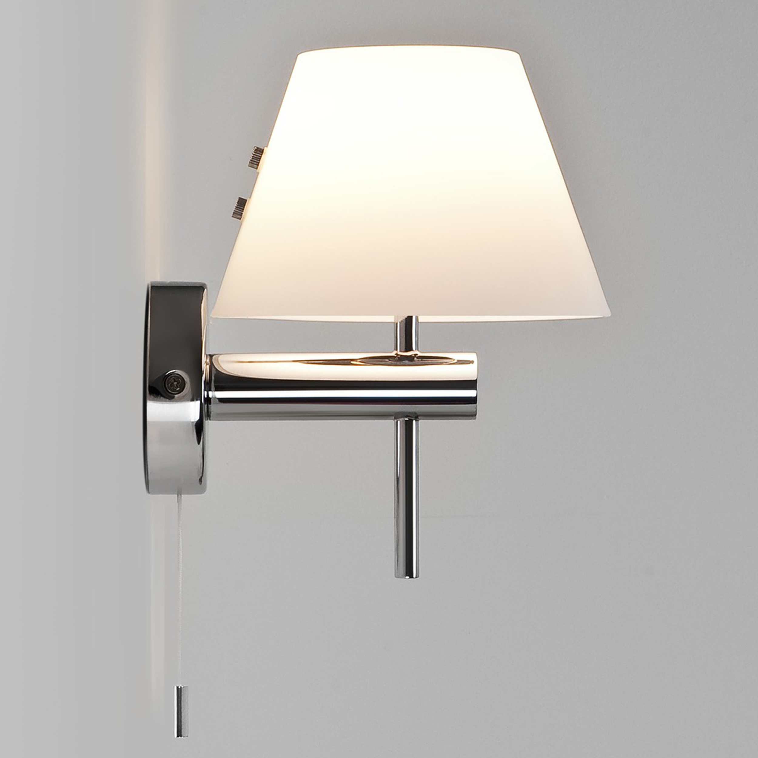 Astro Roma Switched Wall Light Polished Chrome B