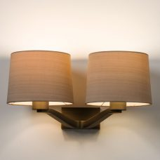 Astro Montclair Twin Wall Light Bronze