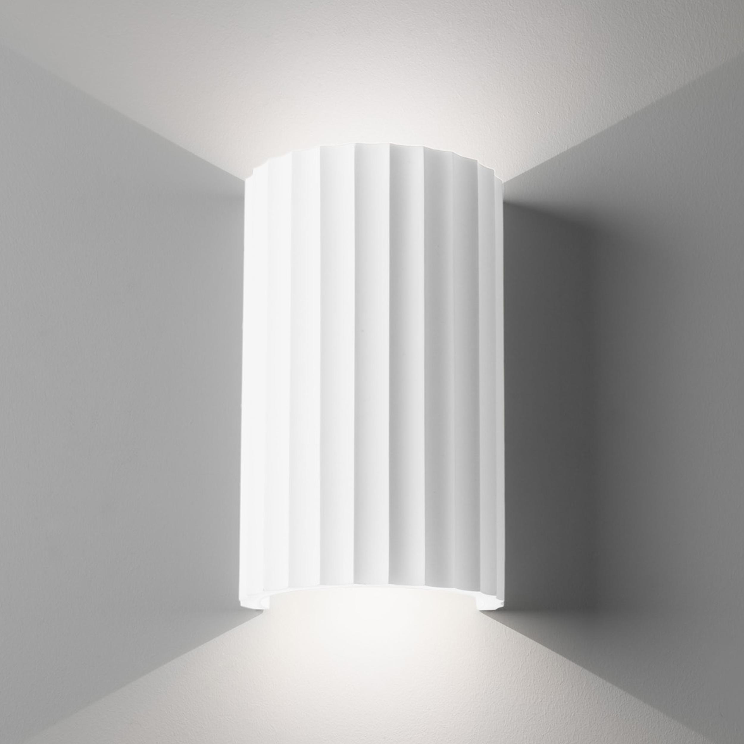 Astro Kymi 220 Wall Light White Plaster B