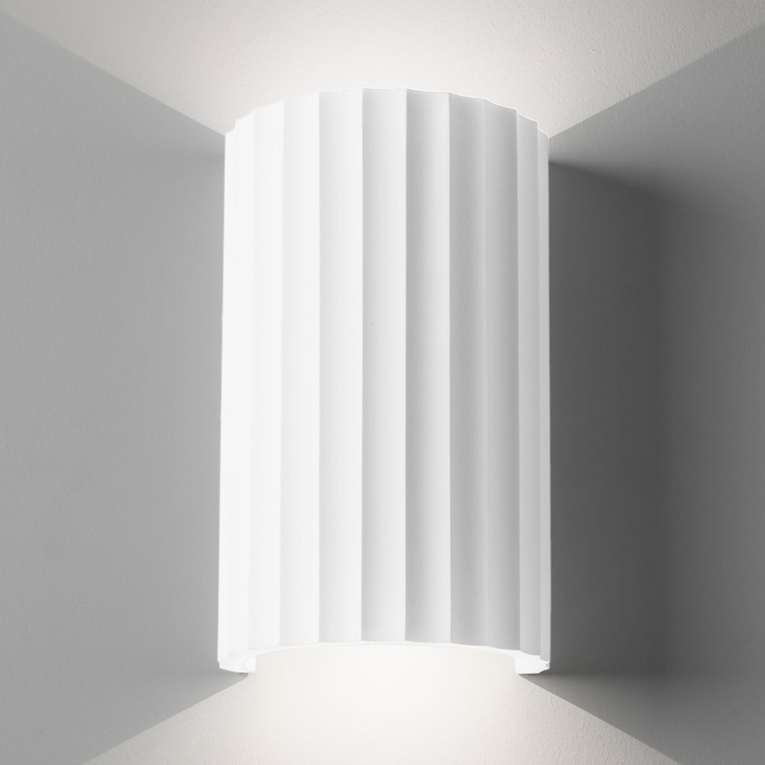 Astro Kymi 300 Wall Light White Plaster B