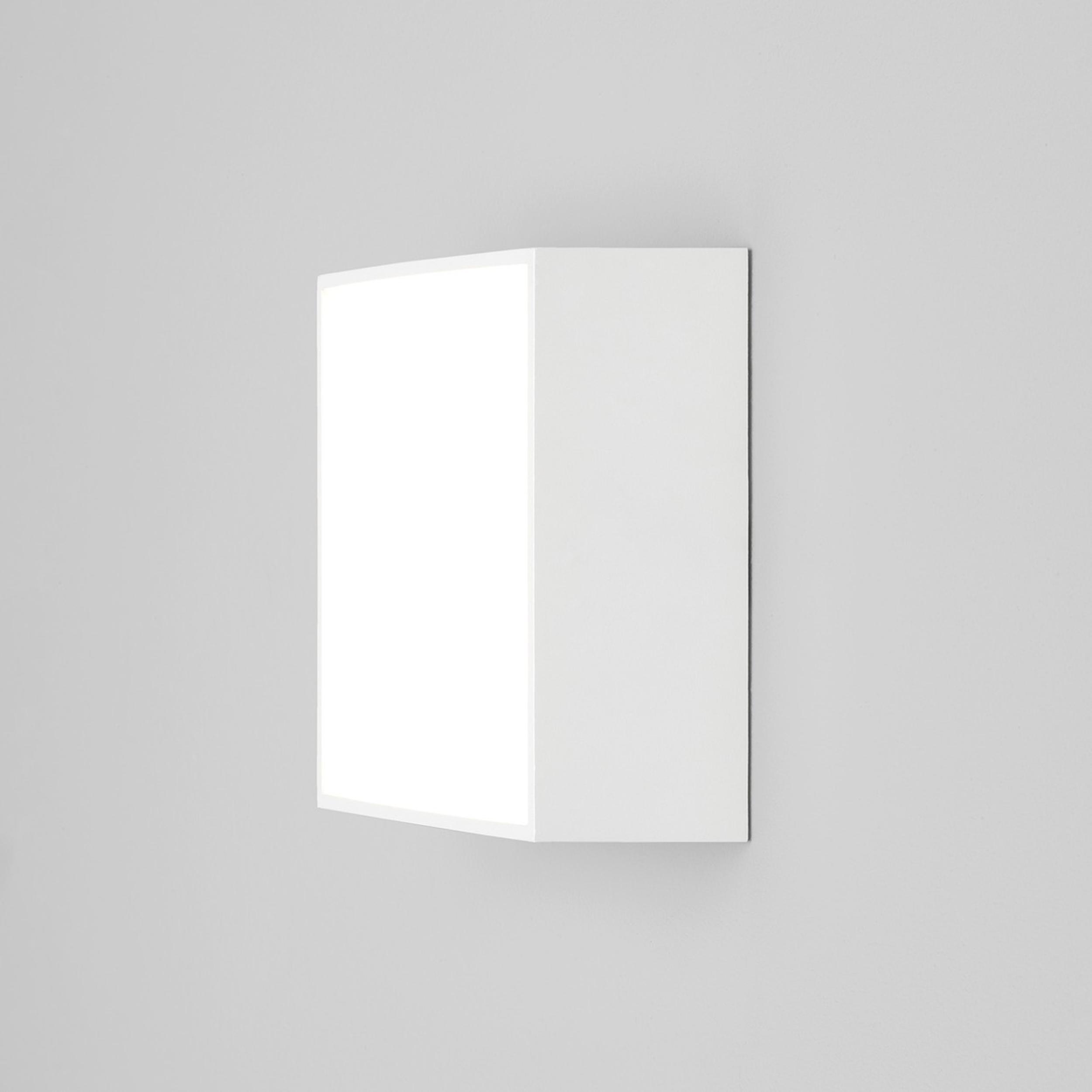 Astro Kea 140 Square Wall Light White
